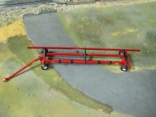 1/64 SpecCast Unverferth AWS Fieldrunner Header Transport Cart Red High Detail