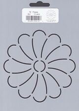 Quilting Stencil Template - Flower Design - Made in the US