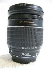 Canon  28-200mm  EF Ultrasonic  Zoom  Lens With Metal Mount. Near Mint