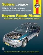 Haynes Manuals: Subaru Legacy, 1990-1998 : Includes Legacy Outback and Legacy...