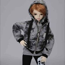 Ask Fur Hood Vest Dollmore 1//4 bjd jacket outwears MSD Camel