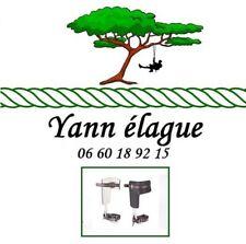 griffes élagage / élagueur  - arborist tree climbing -Treeup - baudrier longe