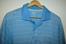 Mens Adidas Grey Rock Country Club Climalite Golf Polo Shirt Small Austin Texas