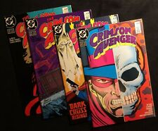DC The Crimson Avenger #1-4 Jun-Sept 1988 9.0 VF/NM Copper Age Comics