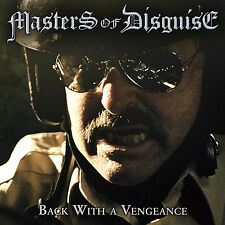 Master of Disguise-back with a Vengeance CD 2013 Speed Metal Savage Grace