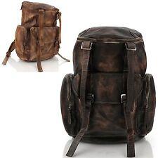 Man backpack Men bags Shoulder Bag Business Backpack Bag Cow Leather 5083 Gray