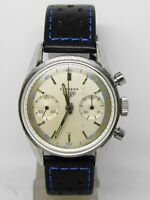 """chronograph """"HEUER CARRERA"""" REF 3647D,vintage stopwatch FIRST EDITION"""