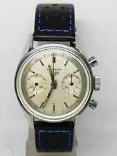 "chronographe ""HEUER CARRERA"" REF 3647D,vintage chrono FIRST EDITION"