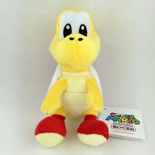Red Koopa Troopa Super Mario Bros Plush Toy Soft Fluffy Teddy Stufed Animal 6""