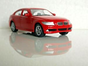 🚓 WELLY NEX DROMADER CAR Scale Model 1:60 1/60 BOX BMW 330i 330 I red