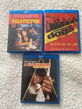 New listing Pulp Fiction + Reservoir Dogs + A Clockwork Orange (Blu-ray) 3 Combo Pack Bundle