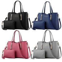 Mode Damenhandtaschen Schulter Bag Handtaschen Geldbörse Leder Umhängetasche 2X