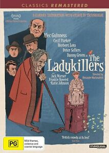 The Ladykillers DVD Region 4 NEW