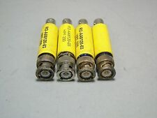 BNC Coaxial Attenuator HPF-200 RD-AA8120-03 BNC Female BNC Male Lot Of 4 - NOS