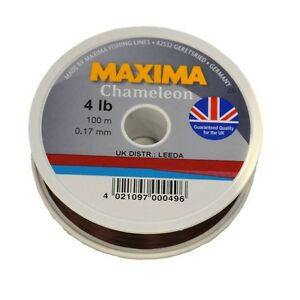 Maxima Chameleon 100m Monofilament Fishing Line from 2.5lb up to 20lb!