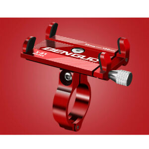 Alloy Bike Handlebar For Cell Phone GPS Mount Aluminum Bicycle Holder Stand