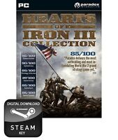 HEARTS OF IRON III 3 COLLECTION PC STEAM KEY
