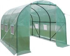 Galvanised Frame Poly tunnel Walk-In Polytunnel Green House Garden 3.5x2x2 Meter