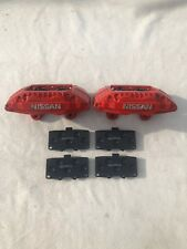 Nissan 200sx/300zx/skyline 4 Pot Calipers & Brand New (heavy Duty) Brake Pads