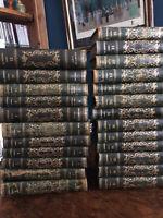 Rousseau, oeuvre complète, en 25 volumes, manque le tome 8, édition de 1836.