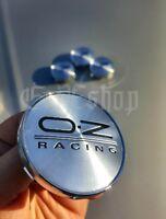 4x O.Z. OZ racing 60mm Felgendeckel Nabendeckel Nabenkappen Alufelgendeckel