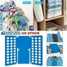 Clothes T-Shirt Flip Fold Folding Board Fast Folder Fast Laundry Organizer Adult