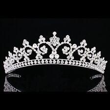 Bridal Pageant Rhinestone Crystal Prom Wedding Crown Tiara 7910