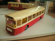 "Norev Autobus Saviem SC 10 U ""bellecour Ligne 17"" in Red/white on 1:43"