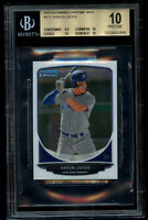 2013 Bowman Chrome Aaron Judge Rookie BGS 10 Pristine Mini RC 9.5 Centering!