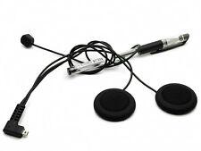 Soft Line Headset Headphone Mic Helmet Bluetooth Intercom Fr T-COM COLD FDC Hot
