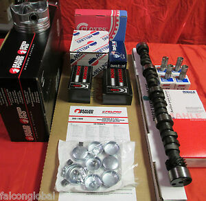 Chevy 307 GMC master engine kit 1968 69 70 71 72 73 TORQUE cam double timing