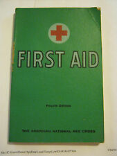 The American National Red Cross First Aid (1957 paper back) (GS15-16)