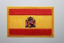 Écusson Patch Brodé Thermocollant Pays Drapeau Espagne Espagnol Supporter Foot
