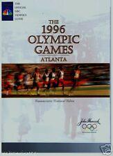 1996 OLYMPIC GAMES ATLANTA NBC NEWS GUIDE CENTENIAL EDD