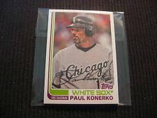 2013 TOPPS ARCHIVES CHICAGO WHITE SOX BASE TEAM SET 5 CARDS  PAUL KONERKO +