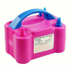 Portable 110V 600W Two Nozzle Color Air Blower Electric Balloon Inflator Pump US