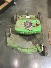 Lawn boy 7260 2 cycle Push Lawnmower. Un-restored.