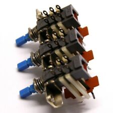 Alps Push button Switch 3 Sections