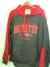 FOURTH & ONE COLLEGIATE HOUSTON COUGARS PULLOVER HOODIE SWEATSHIRT XL