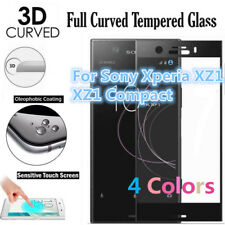 FULL CURVED 3D TEMPERED GLASS SCREEN PROTECTOR For Sony Xperia XZ1 XZ1 COMPACT