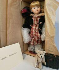 Nib Boyds Yesterday's Child Porcelain Doll 4803 Brittany & Ben Goin' to Grandmas