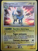 Carte Pokemon ELECSPRINT 11/127 Holo PLATINE FR NEUF
