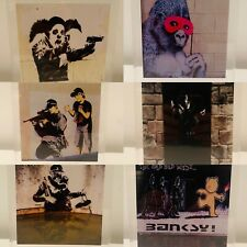 Banksy Art Dismaland Walled Off Bristol Museum Gross Domestic Product
