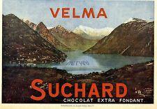 Velma Suchard Chocolat Historische Annonce 1909