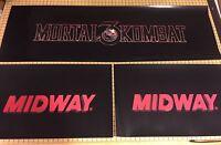 Mortal Kombat 3 Arcade Control Panel Box Art Artwork MK3 UMK3 CPO Midway