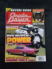 Chrysler Power & Mopars Nov 1997  Buyers Guide - Big Block - Mr Truck - Carlisle