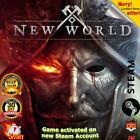 ✅ New World | Steam | PC Spiel/ Game | No Key / No Code | Worldwide | GLOBAL ✅ <br/> ✅🔥+🎁 Random Steam Key✔ Return✔ Mit 100% Garantie✔ 🔥✅