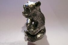 Pewter Bear Figurine