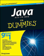 Java All-in-One For Dummies, Acceptable, Lowe, Doug, Book