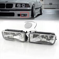 Car Crystal Fog Lights Driving Lamp Housing Case for BMW 3-Series E36 316i 92-98